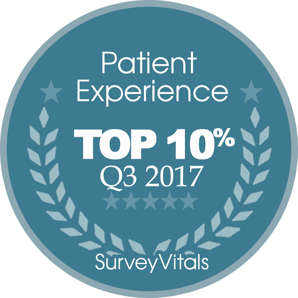 SurveyVitals Patient Experience Top10